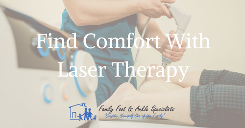 Laser Therapy Will Relieve Your Pain