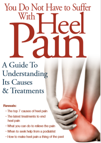 You Do Not Have to Suffer with Heel Pain!